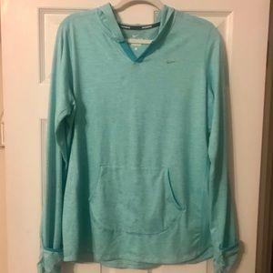 Nike hoodie shirt, women's XL
